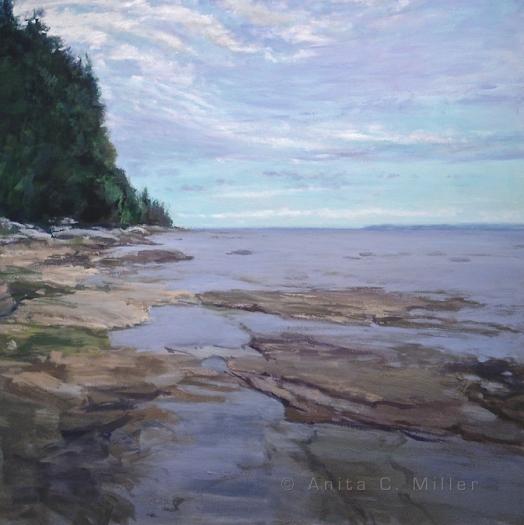 oil on canvas, © anita c. miller