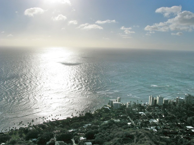 view from Diamondhead