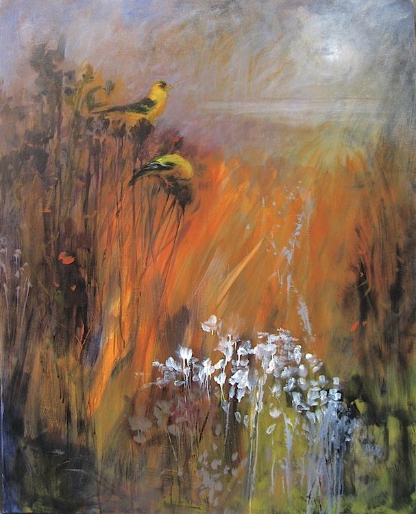 oil on canvas, © Anita C. Miller 2013