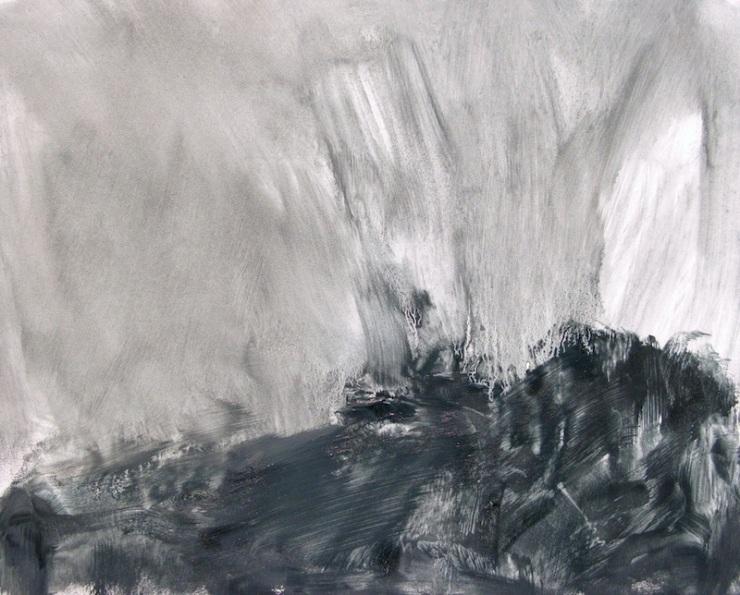 """Place Of Turmoil"", 8"" x 10"", oil © Anita C. Miller"