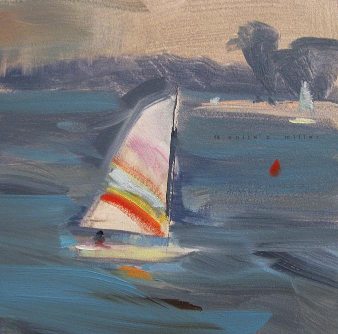 striped sail