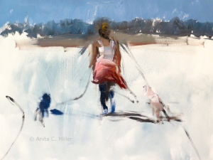 walking the dogs, 9